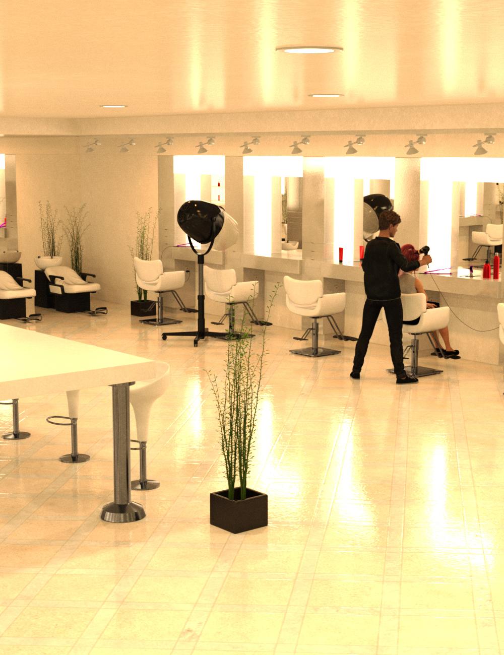 Hair Salon by: Charlie, 3D Models by Daz 3D
