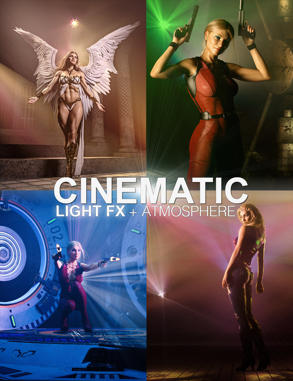 Cinematic Light FX plus Atmosphere by: Colm Jackson, 3D Models by Daz 3D
