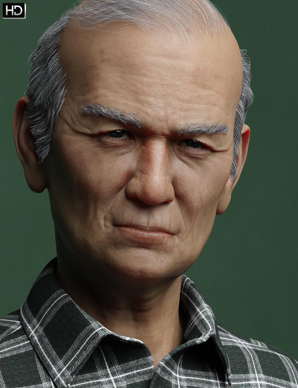 Gui HD for Mr Woo 8 by: Emrys, 3D Models by Daz 3D