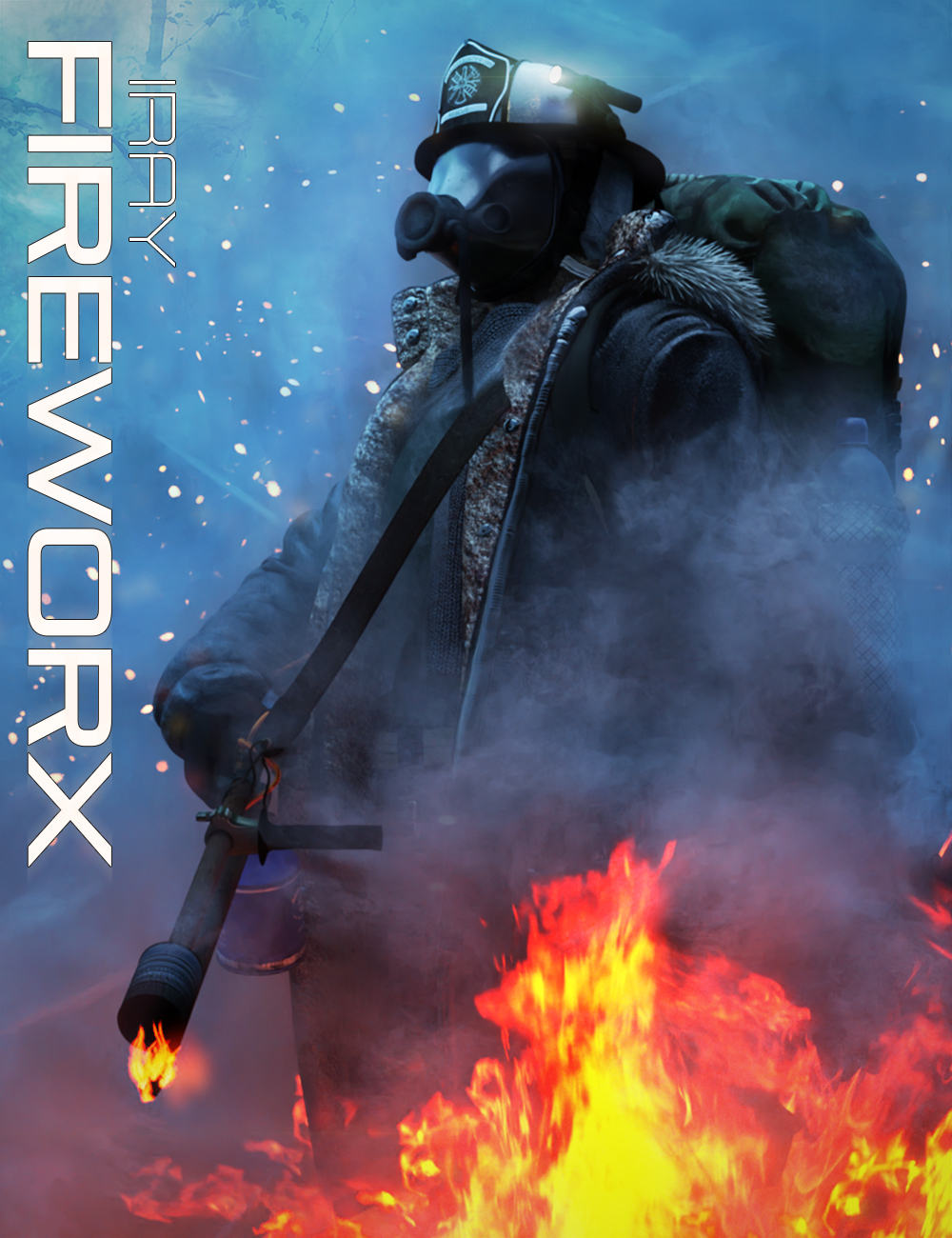 Iray FireWorx by: KindredArts, 3D Models by Daz 3D