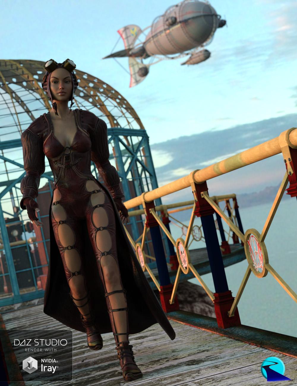 RSSY Clothing Converter from Genesis 2 Female to Genesis 3 Female by: SickleyieldRiverSoft Art, 3D Models by Daz 3D