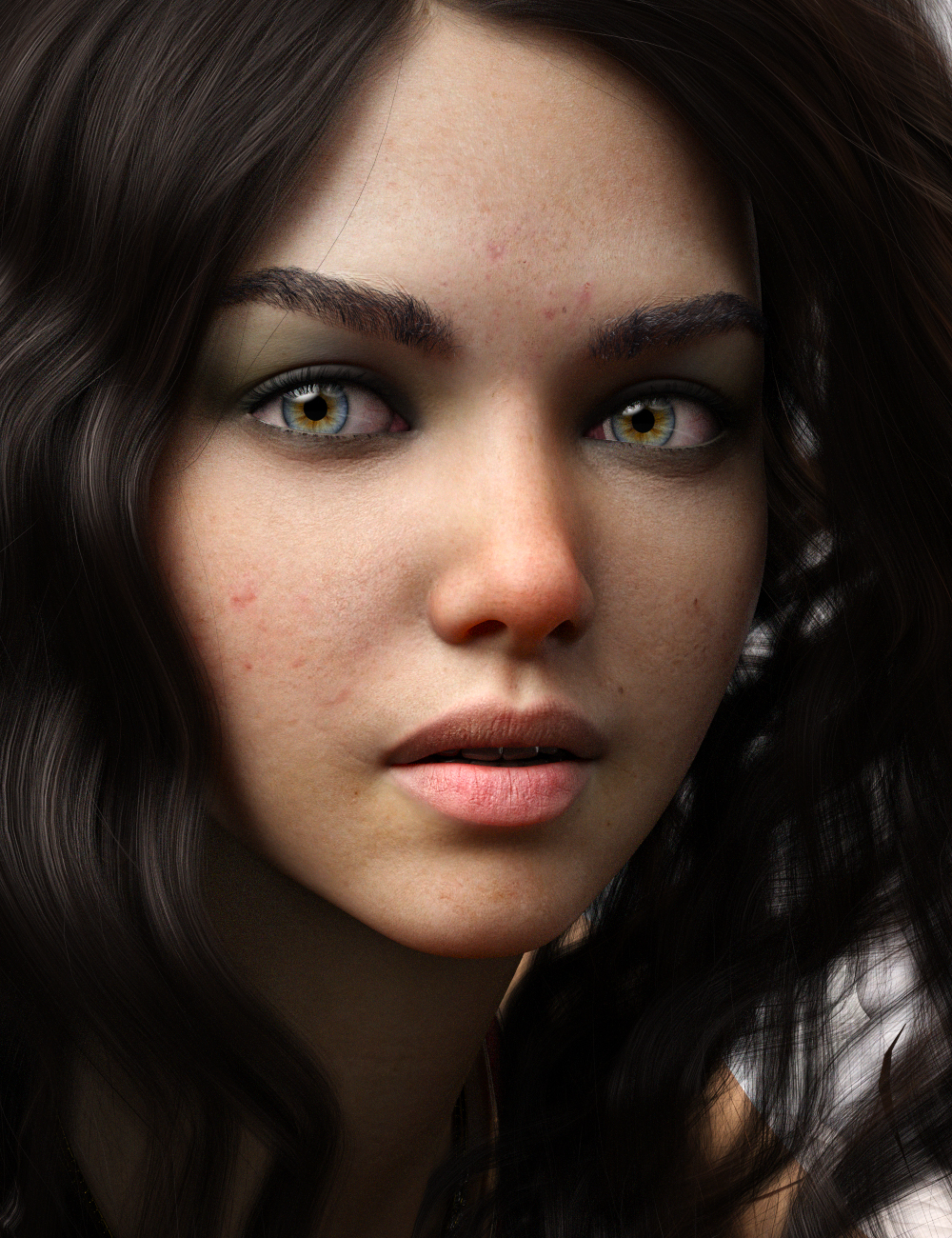 Dominika HD And Bodice Angelic For Genesis 8 Female by: iSourceTextures, 3D Models by Daz 3D