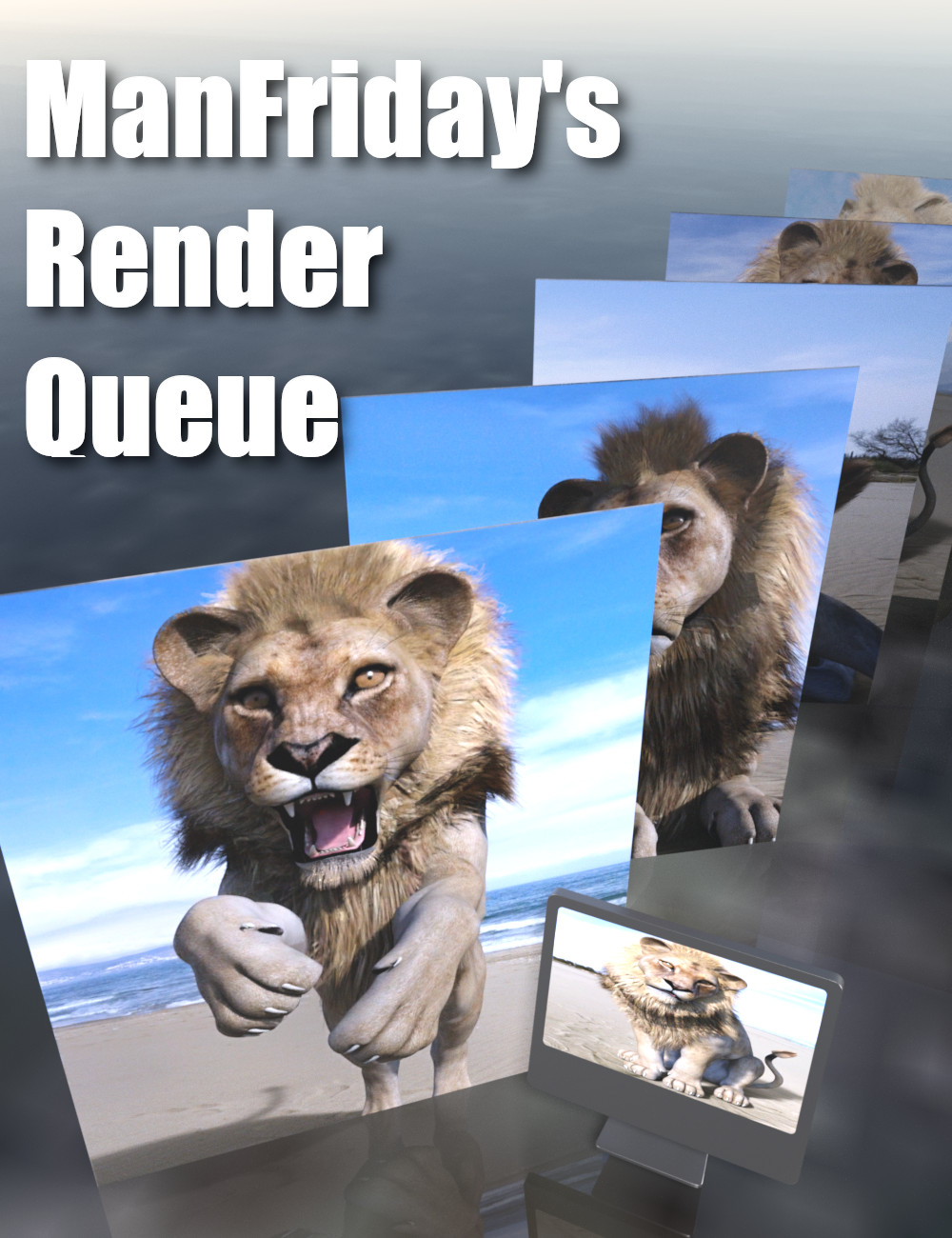 Render Queue by: ManFriday, 3D Models by Daz 3D