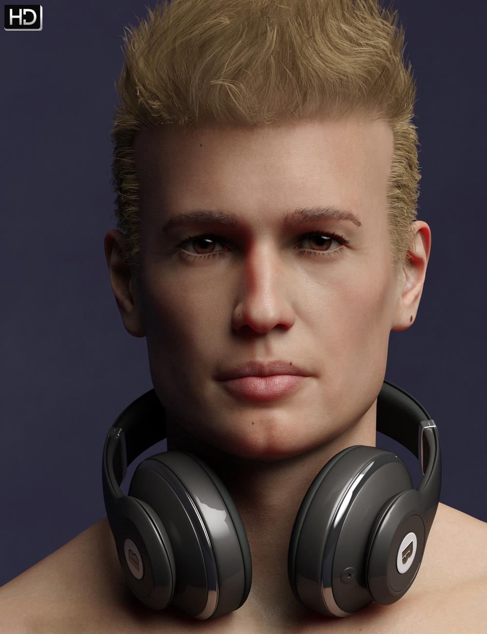 Bruno HD for Michael 8 by: Emrys, 3D Models by Daz 3D