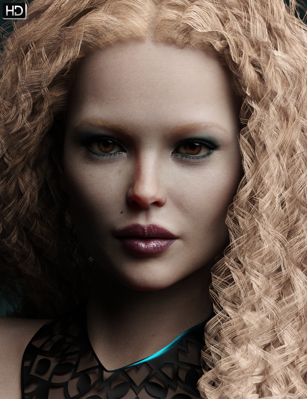 Shawna HD for Victoria 8 by: Emrys, 3D Models by Daz 3D