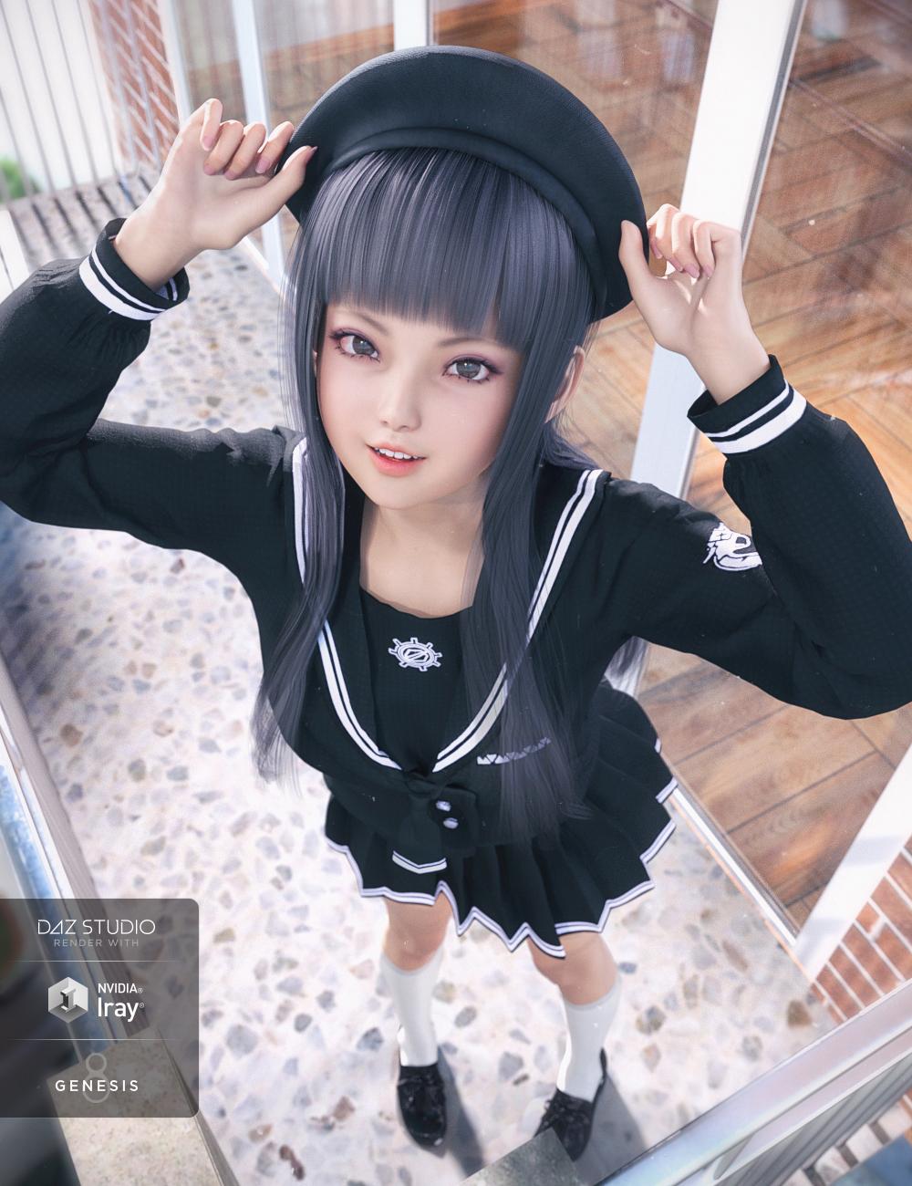 dForce JK Suit for Genesis 8 Female(s) by: Daz OriginalsCrocodile Liu, 3D Models by Daz 3D