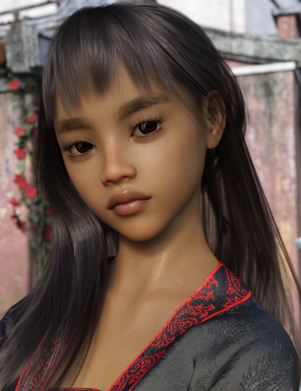 Anakku for Genesis 8 Female by: Thorne, 3D Models by Daz 3D