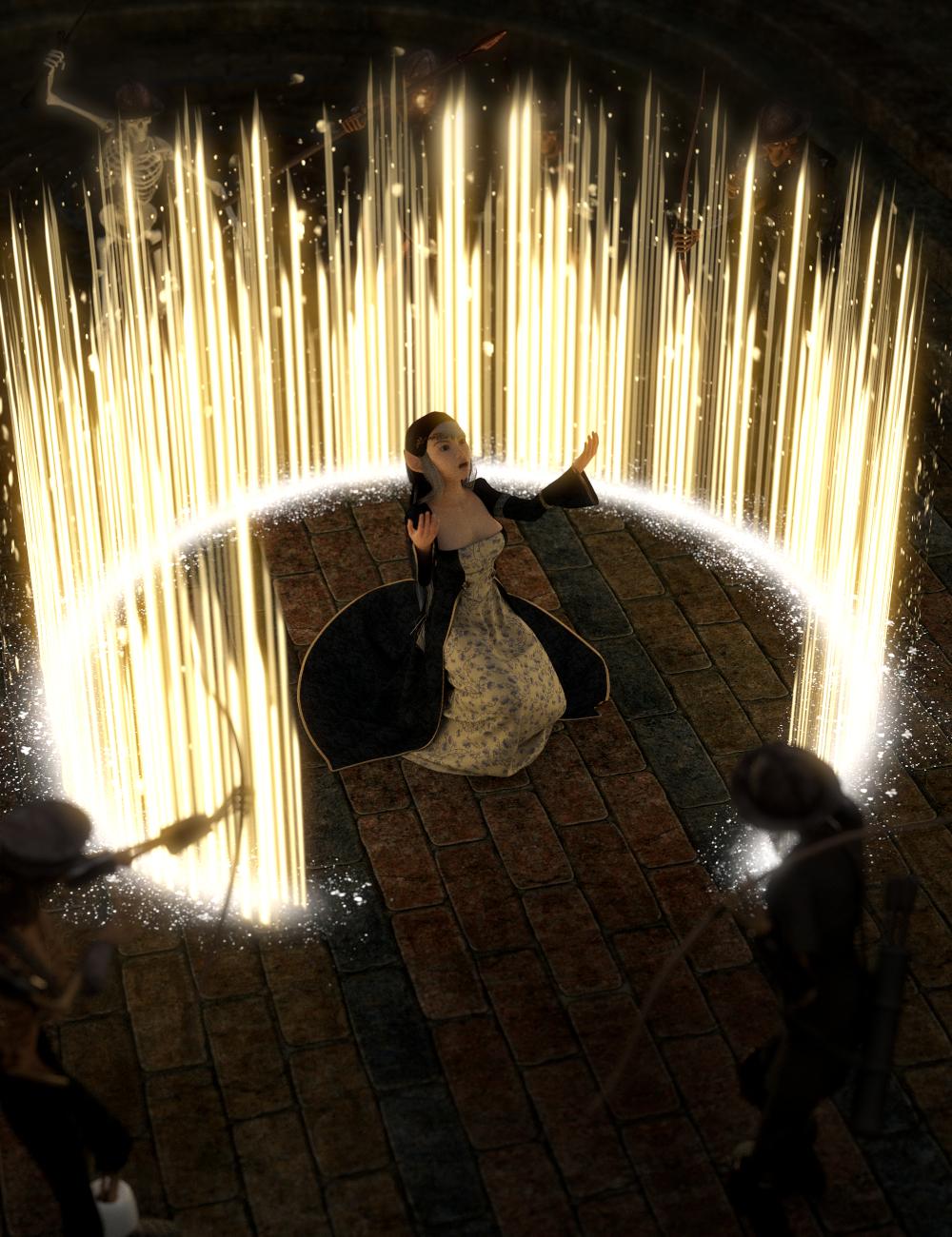 SY Magnificent Magic Genesis 8 by: Sickleyield, 3D Models by Daz 3D