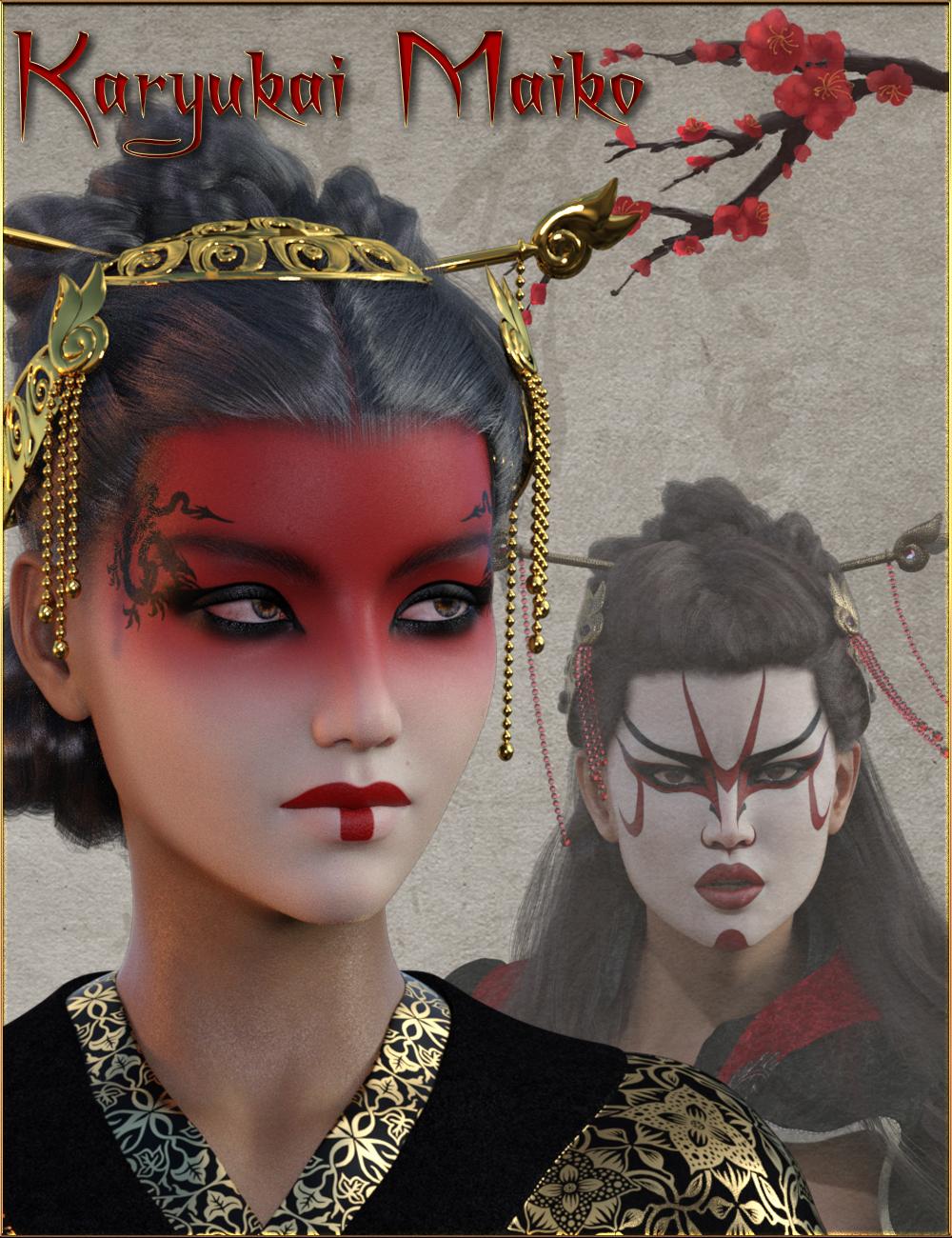 Karyukai Maiko for Genesis 8 Female(s) by: gypsyangelilona, 3D Models by Daz 3D