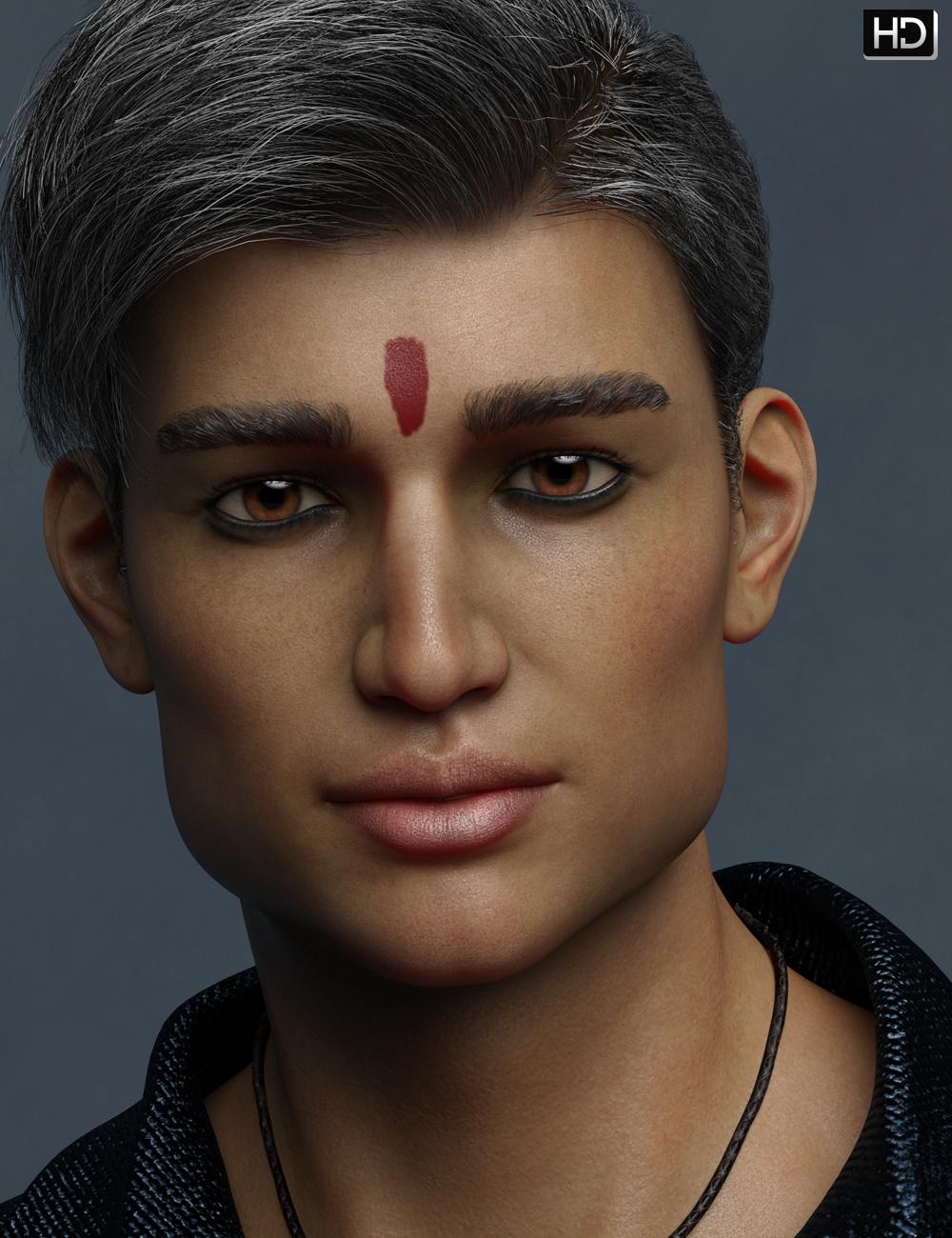 Devansh HD for Sanjay 8 by: Emrys, 3D Models by Daz 3D