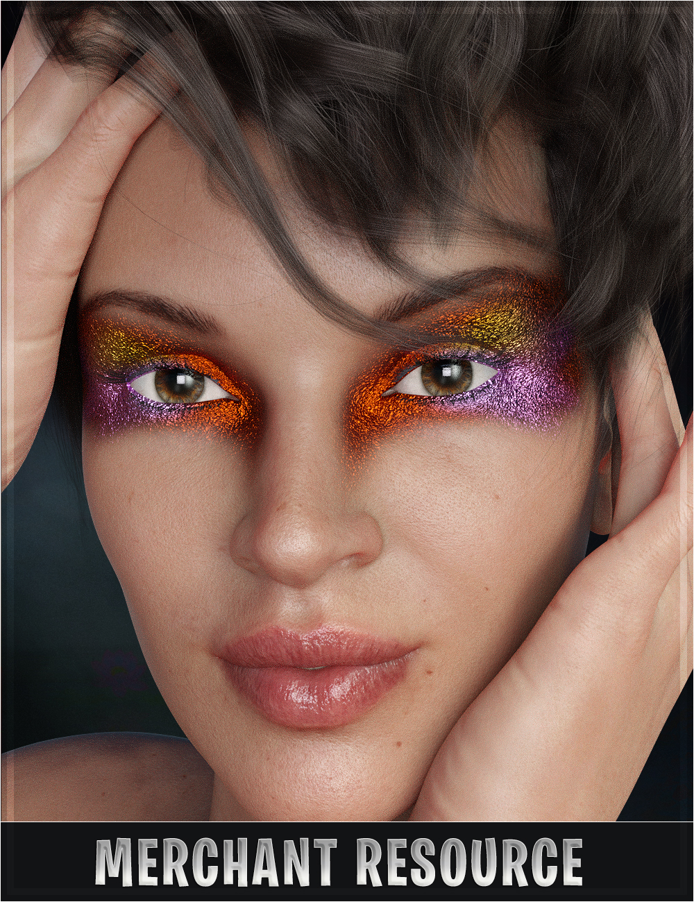 Stardust Glitter Fantasy Makeup Daz