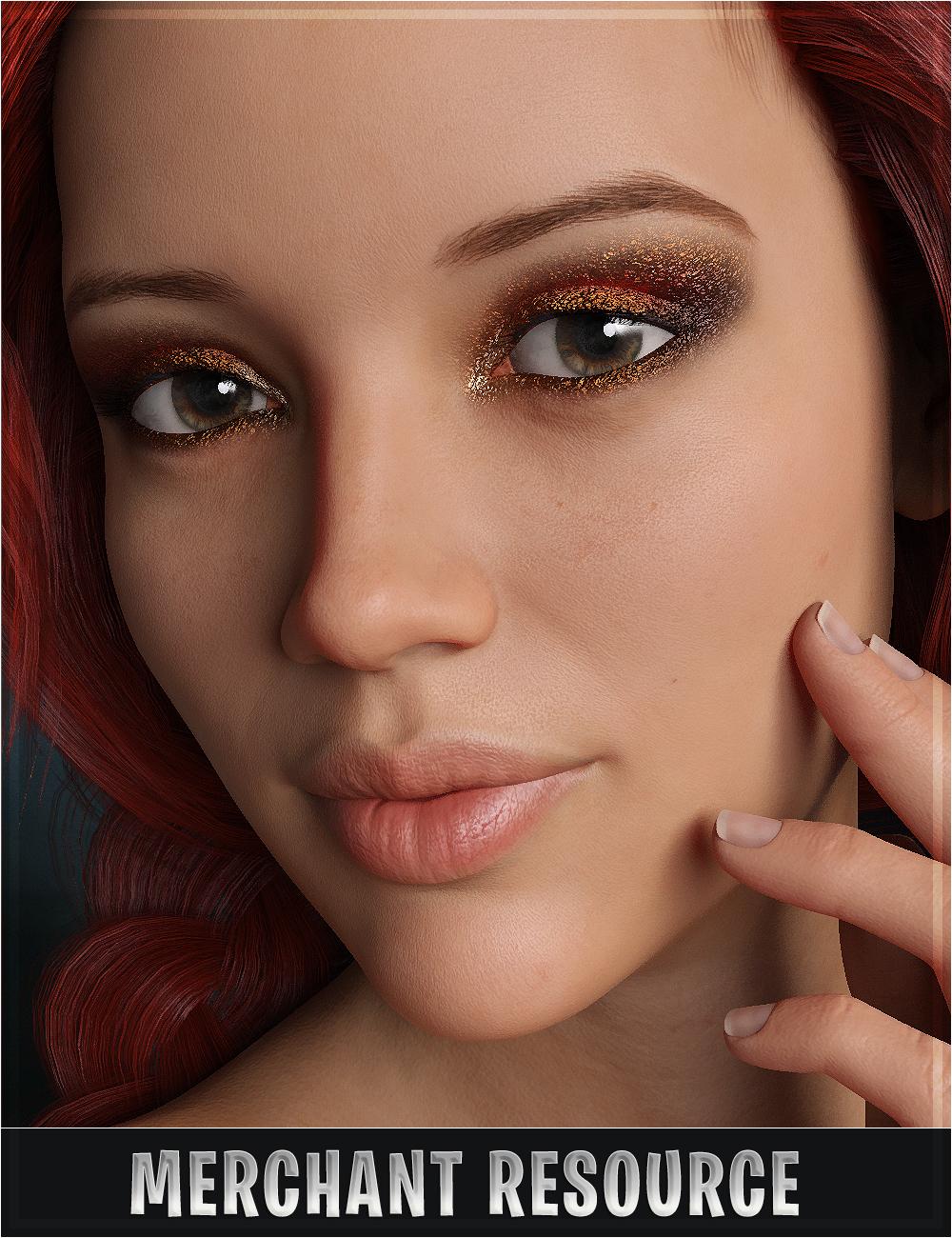 Stardust Glitter Eyeshadows by: SR3OziChick, 3D Models by Daz 3D