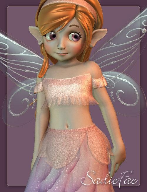 SadieFae by: MadaThorne, 3D Models by Daz 3D