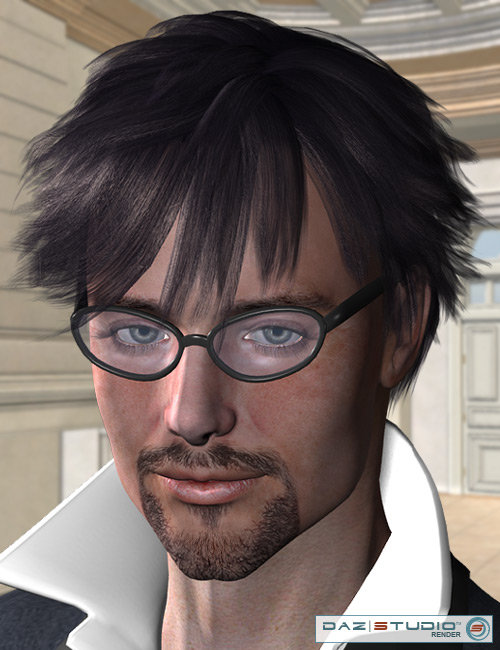 Blaine Hair by: AprilYSH, 3D Models by Daz 3D