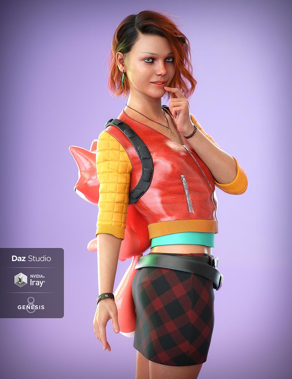 Teen Jane 8 by: , 3D Models by Daz 3D