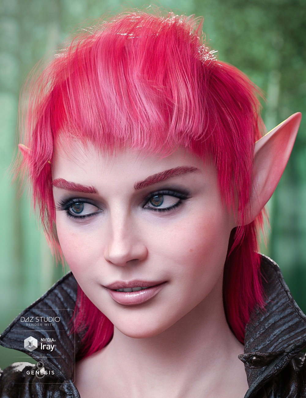 Colors for Fallow Hair by: goldtassel, 3D Models by Daz 3D