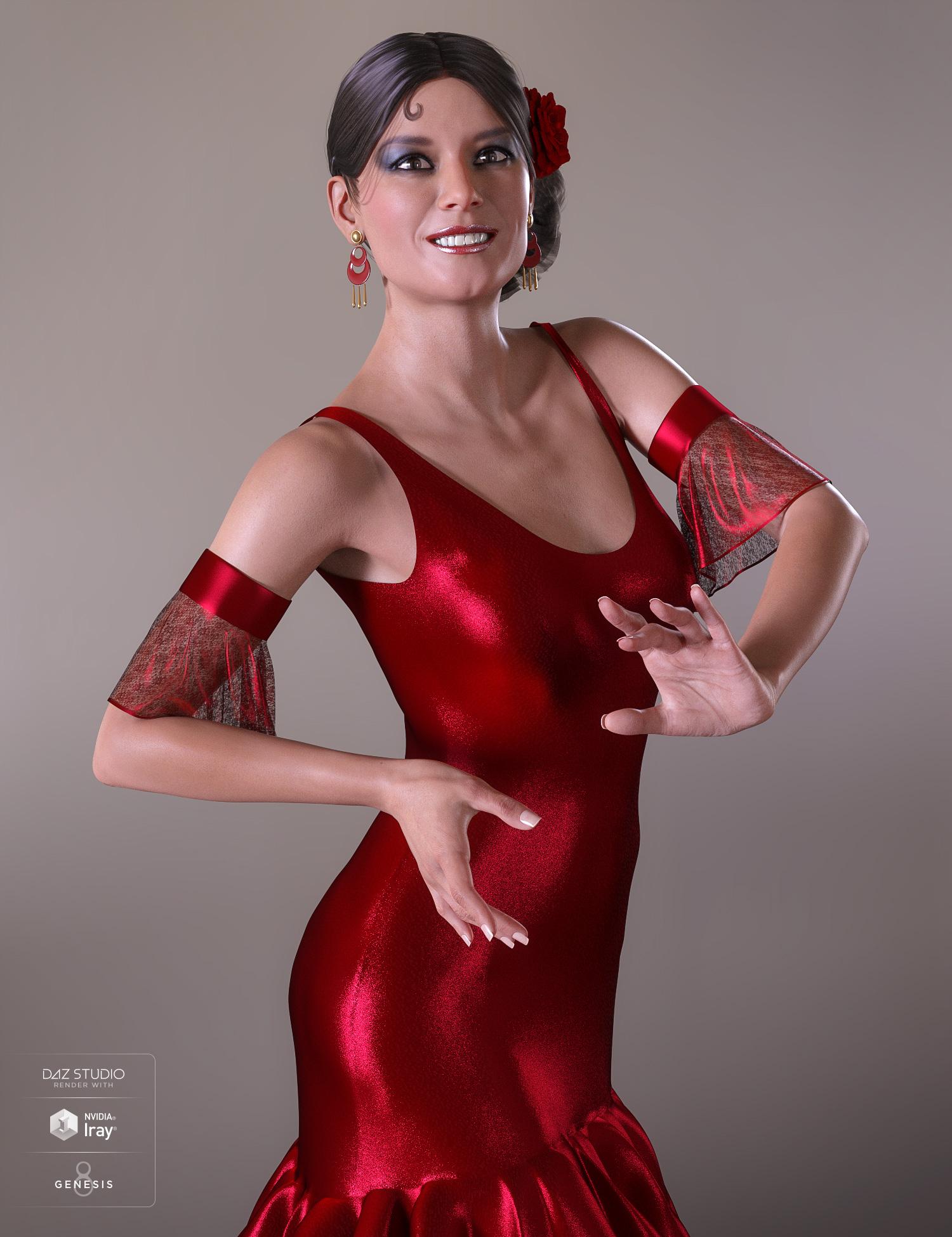 Gabriela 8 by: , 3D Models by Daz 3D
