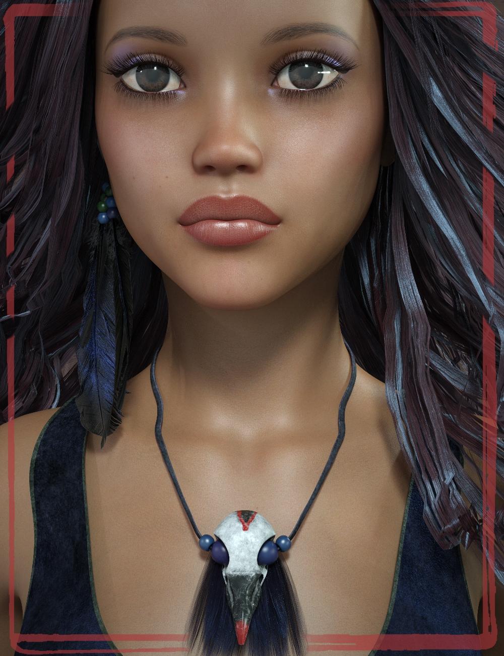 Camila for Genesis 8 Female by: Handspan Studios, 3D Models by Daz 3D