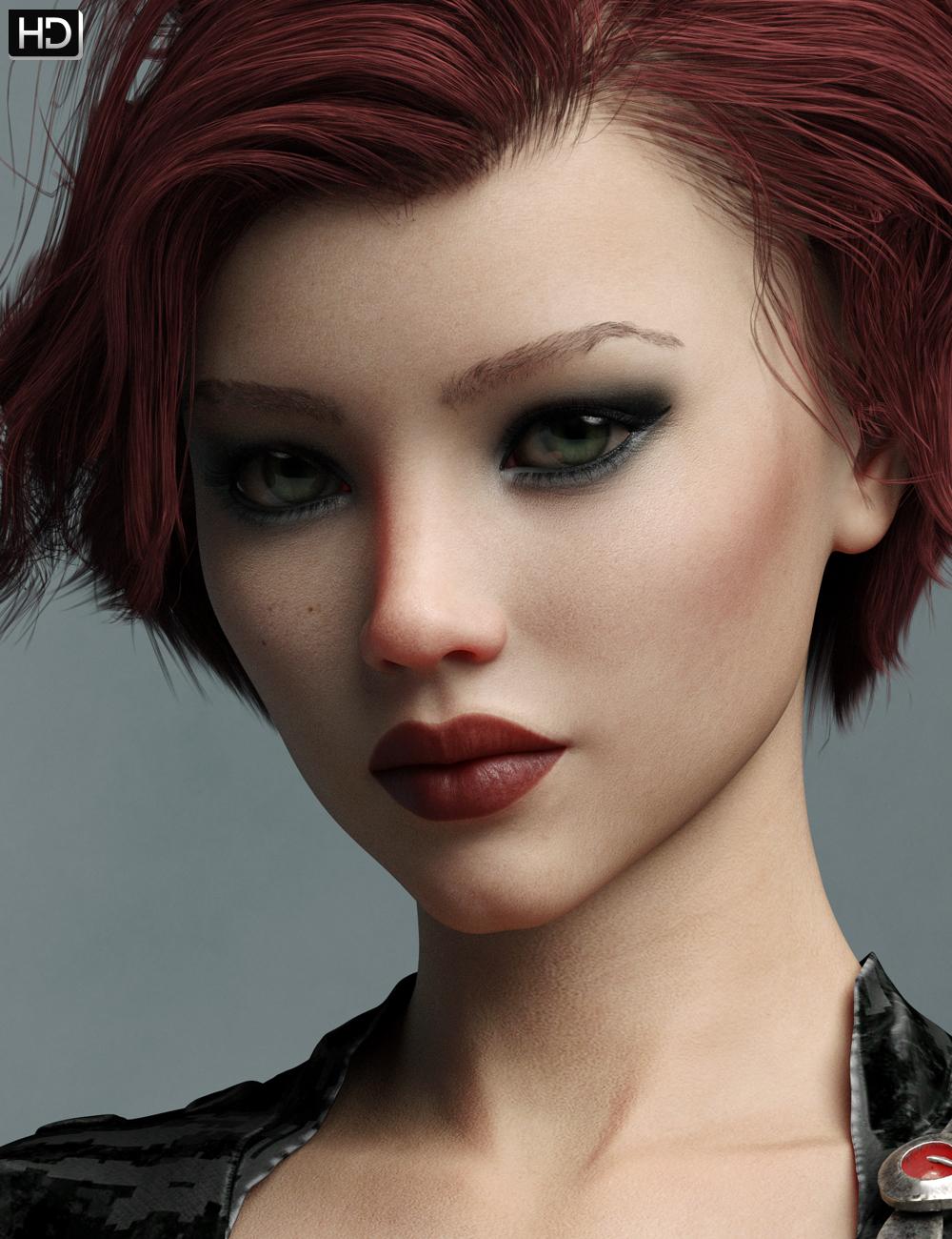 Charlie HD for Genesis 8 Female by: Emrys, 3D Models by Daz 3D