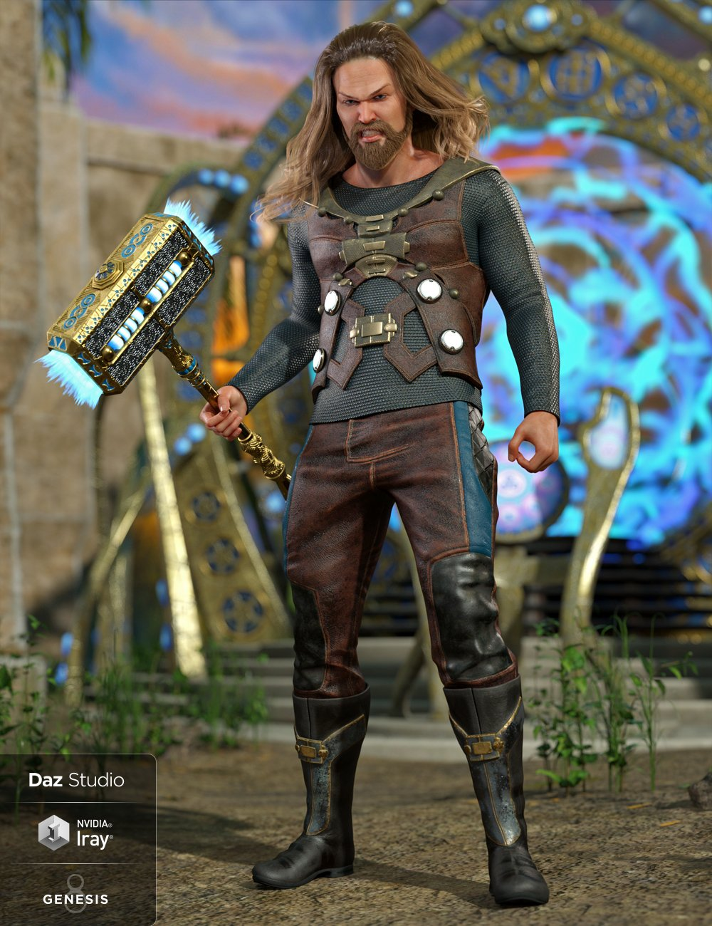 Convergence Outfit for Genesis 8 Male(s) by: MadaMoonscape GraphicsSade, 3D Models by Daz 3D