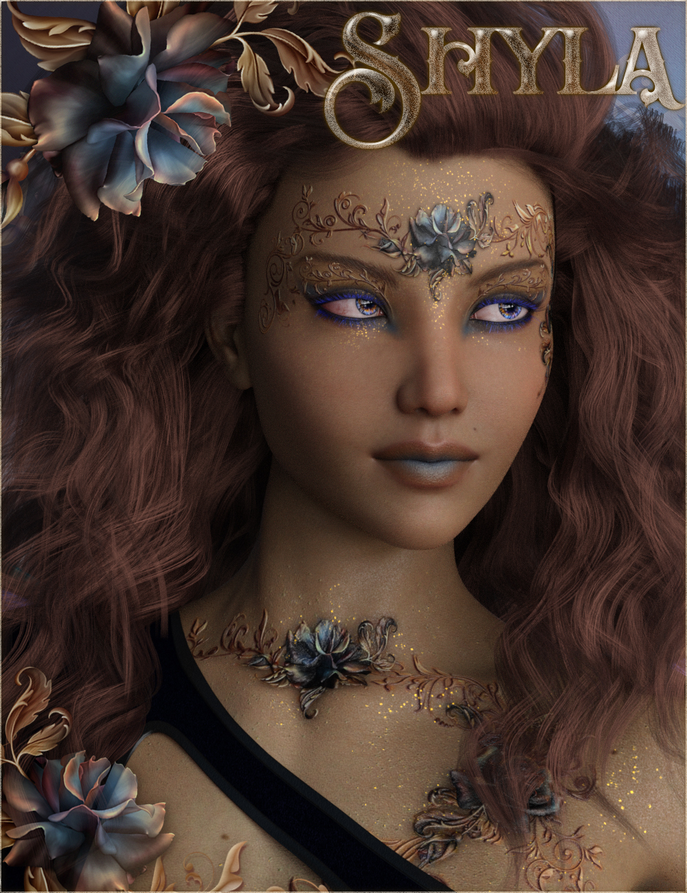 Shyla for Genesis 8 Female by: gypsyangelilona, 3D Models by Daz 3D