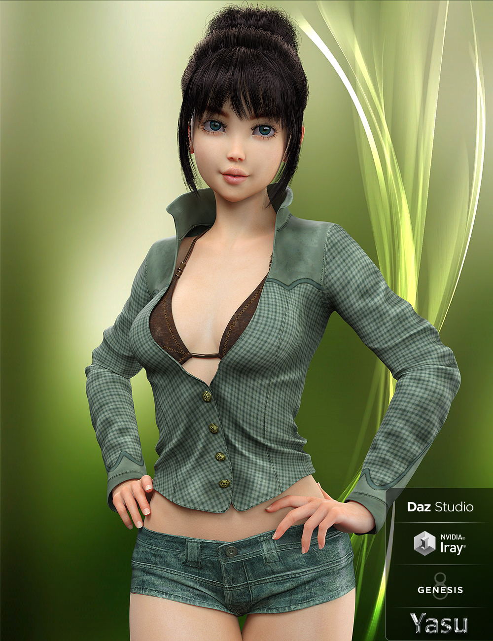 Yasu for Kanade 8 by: , 3D Models by Daz 3D