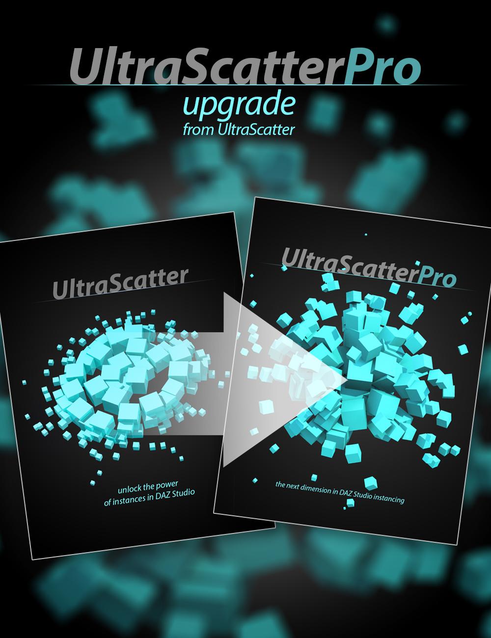 UltraScatterPro - Upgrade from UltraScatter Advanced Instancing by: HowieFarkes, 3D Models by Daz 3D