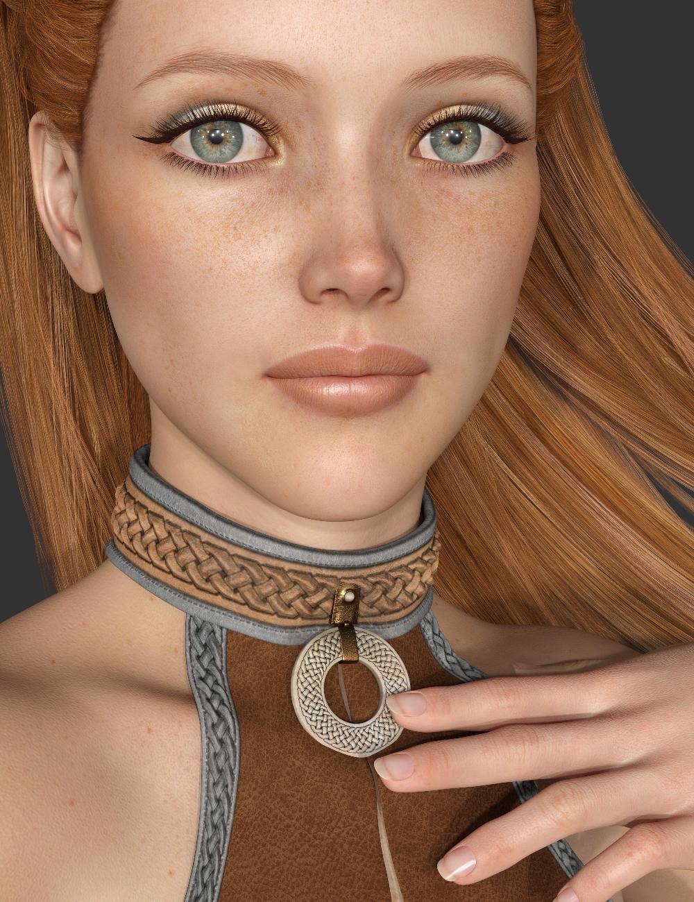 Eryn for Genesis 8 Female by: Handspan Studios, 3D Models by Daz 3D