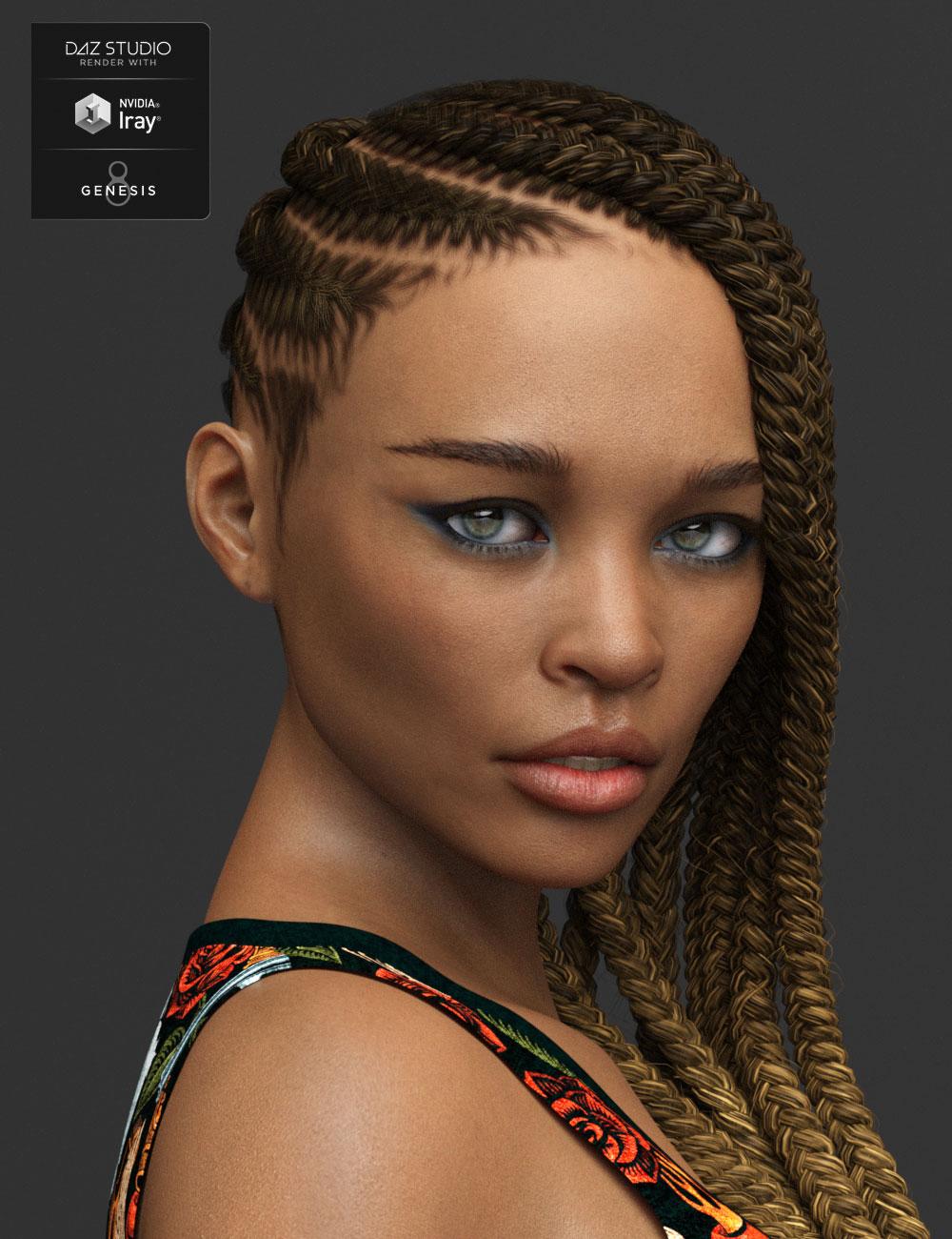 Mirlande HD for Genesis 8 Female by: Mousso, 3D Models by Daz 3D