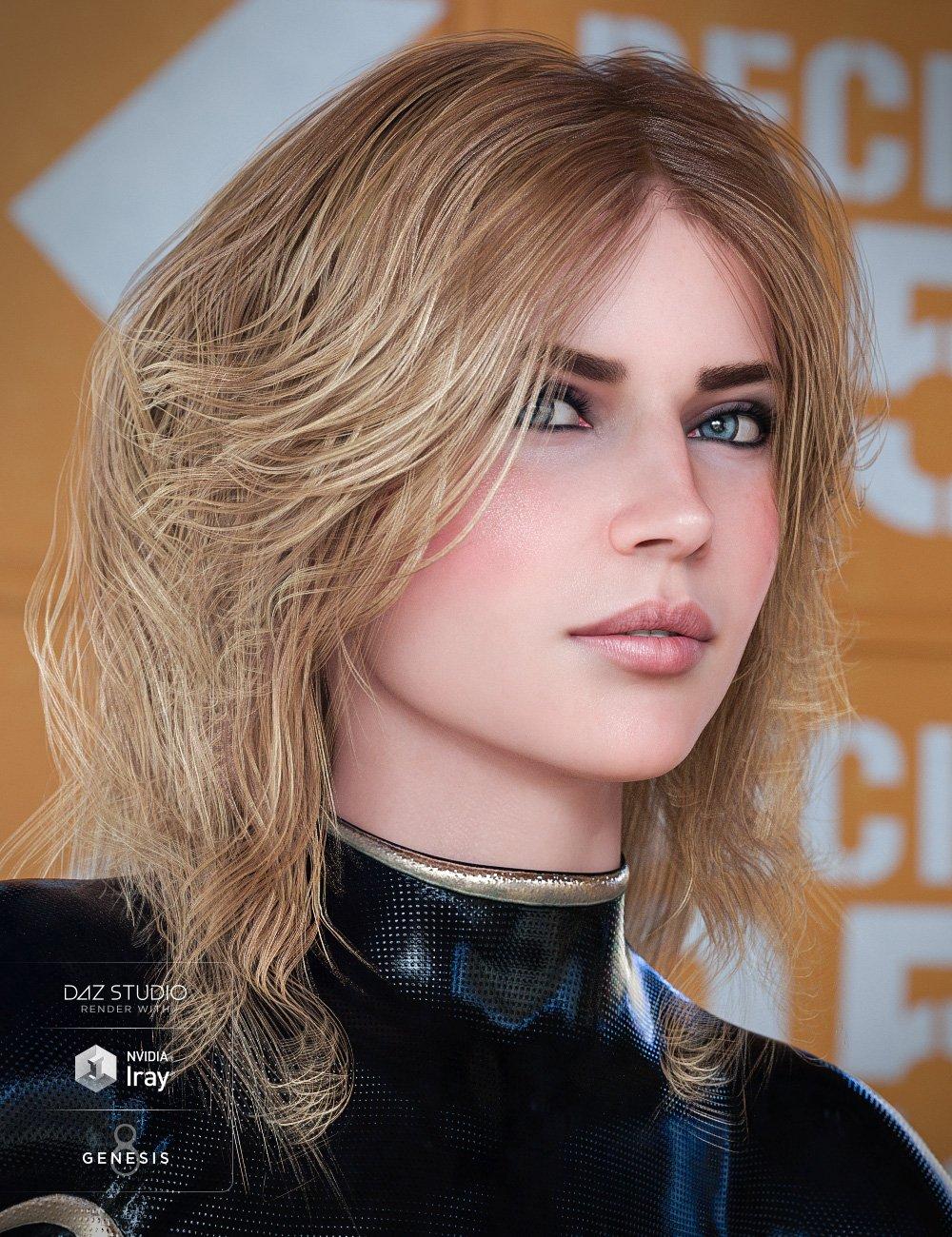 Geo Hair for Genesis 8 Female(s) by: goldtassel, 3D Models by Daz 3D