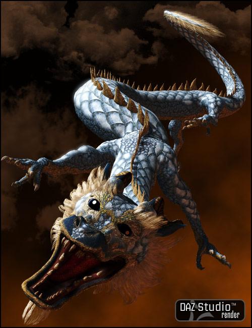 Eastern Dragon by: , 3D Models by Daz 3D