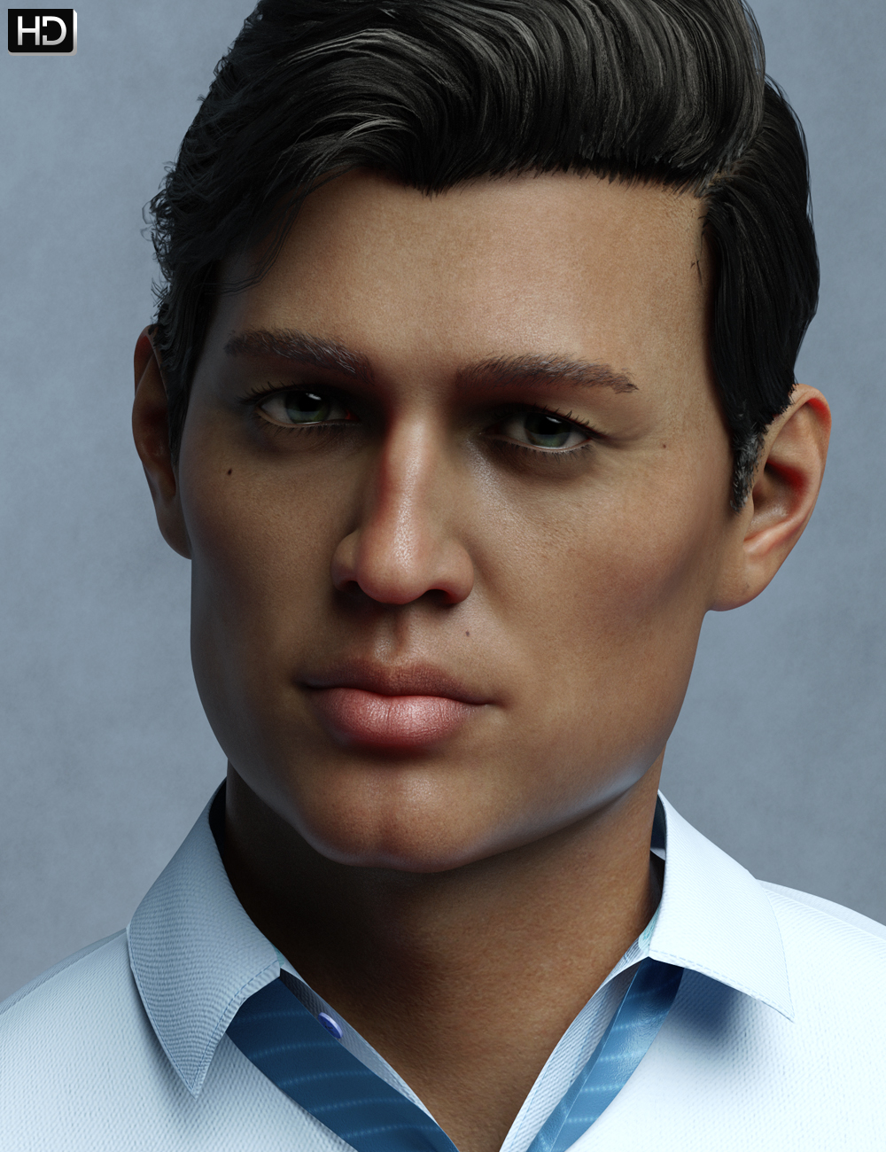 Jorge HD for Diego 8 by: Emrys, 3D Models by Daz 3D