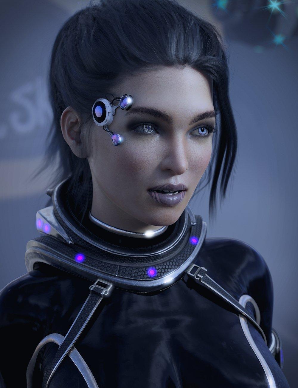 Jennica HD for Genesis 3 & 8 Female by: Lyoness, 3D Models by Daz 3D