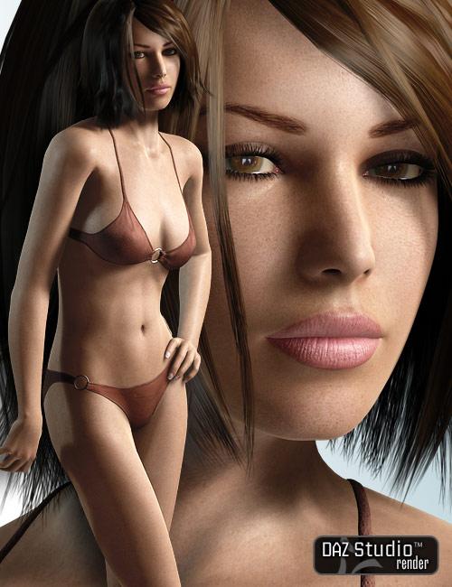Victoria 4 GW 5 Female Texture by: , 3D Models by Daz 3D