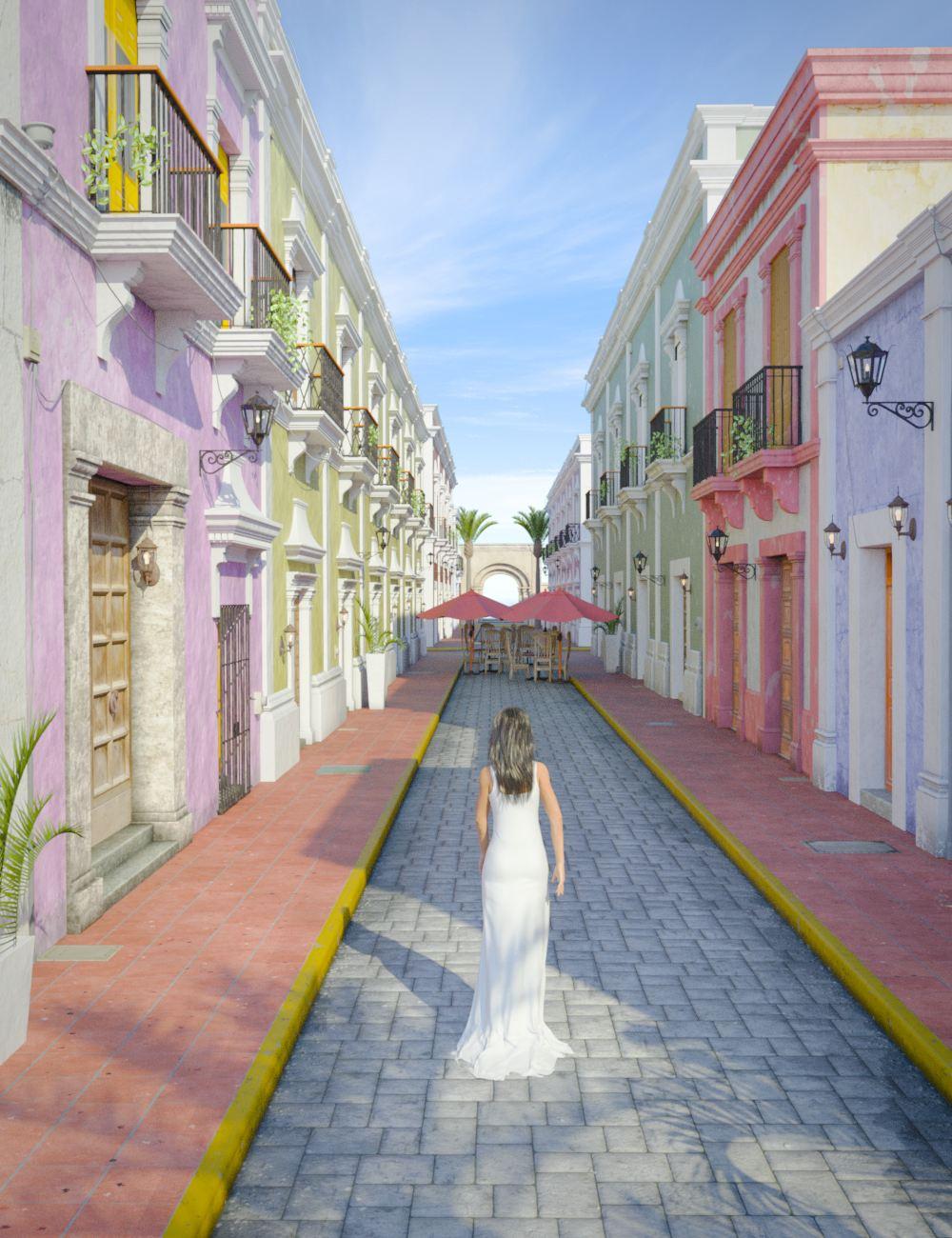 Caribbean Village by: bitwelder, 3D Models by Daz 3D
