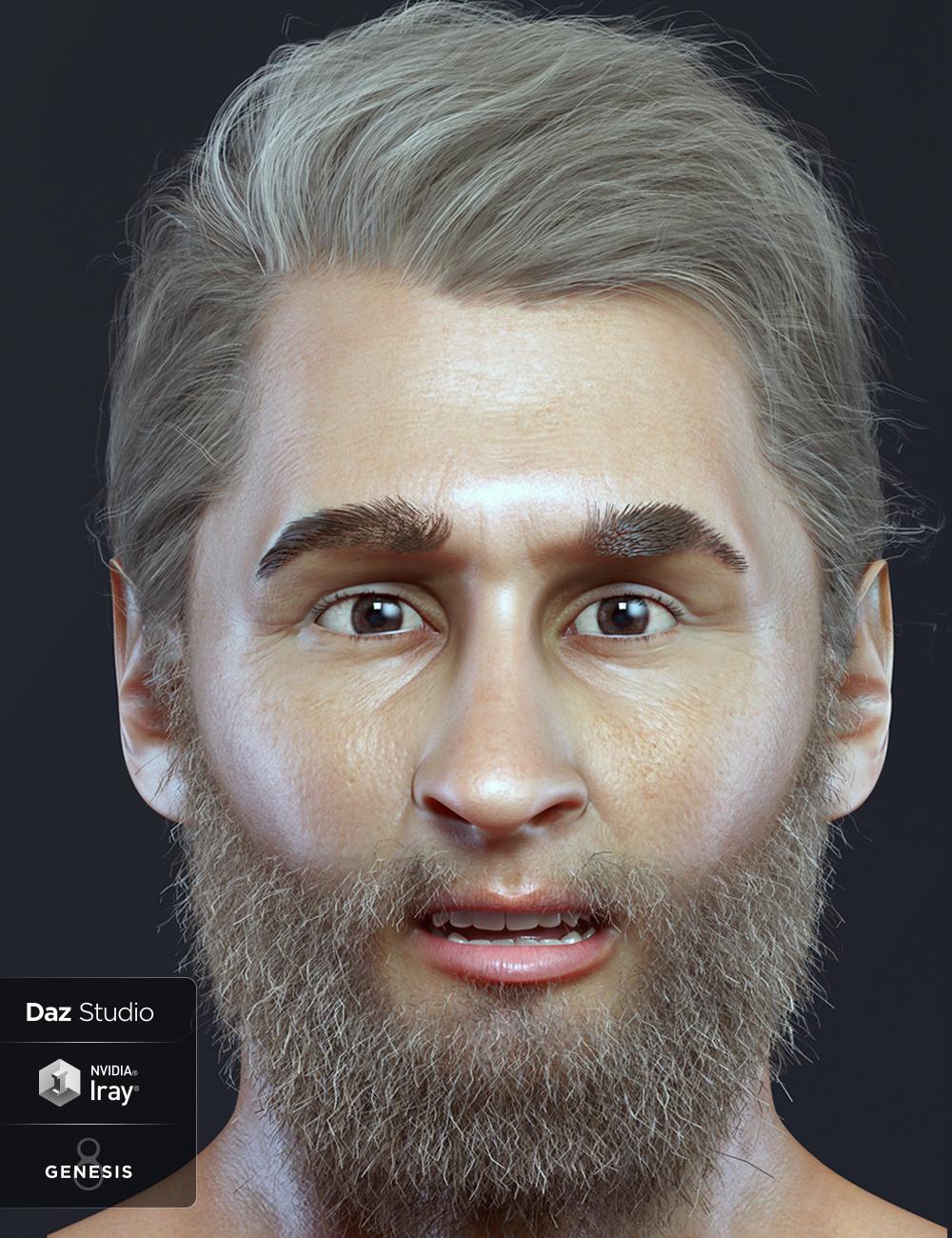 Rossy For Genesis 8 Male by: Spows, 3D Models by Daz 3D