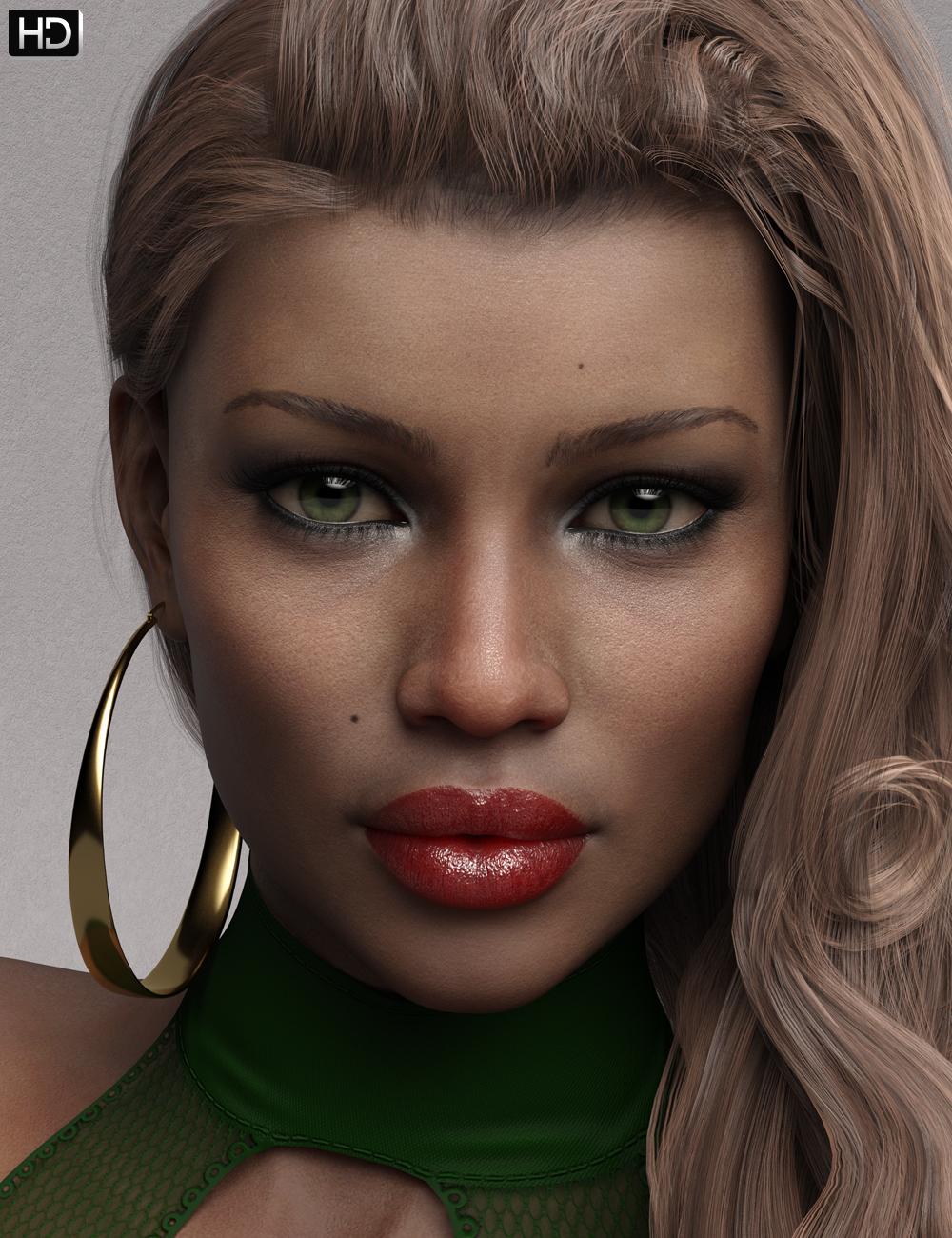 Jennifer HD for Genesis 8 Female by: Emrys, 3D Models by Daz 3D