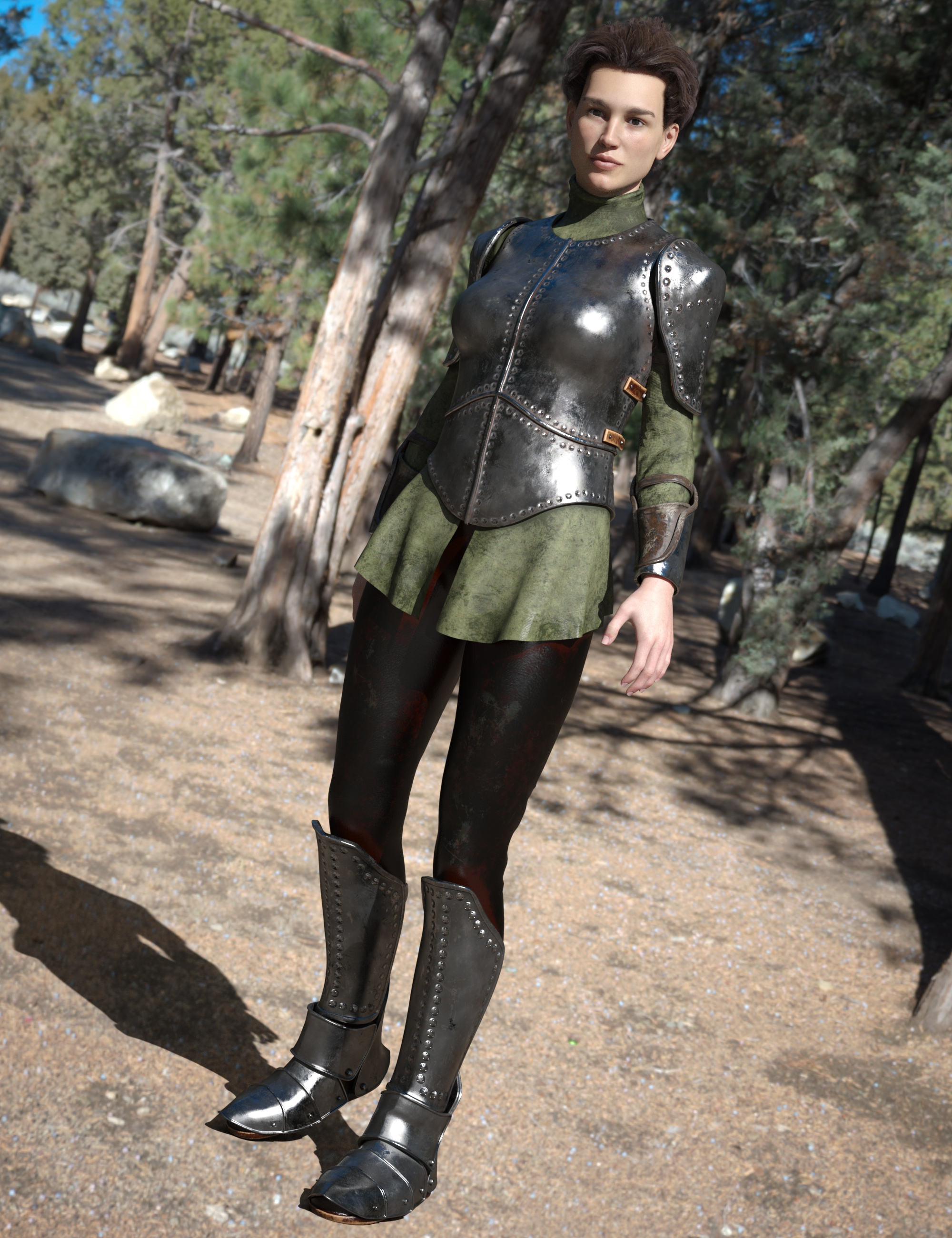 Maid At Arms Armor for Genesis 8 Female(s) by: Moonscape GraphicsSade, 3D Models by Daz 3D