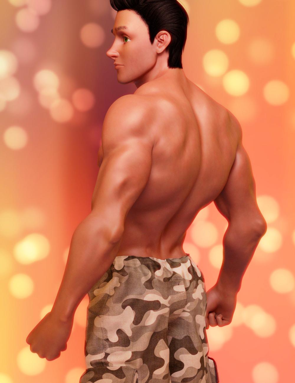 Toon Hero for Genesis 8 Male by: JoeQuick, 3D Models by Daz 3D