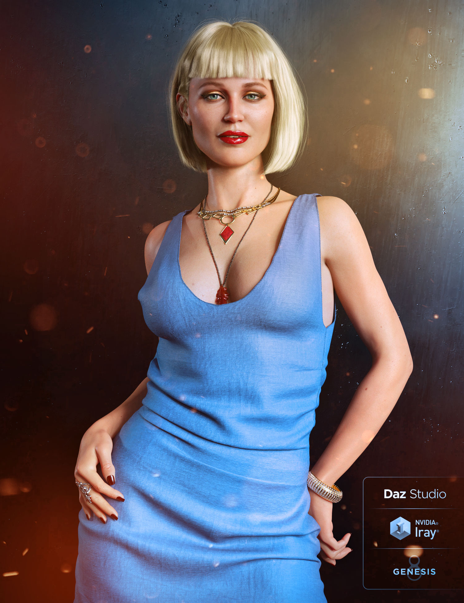 Leisa 8 by: , 3D Models by Daz 3D