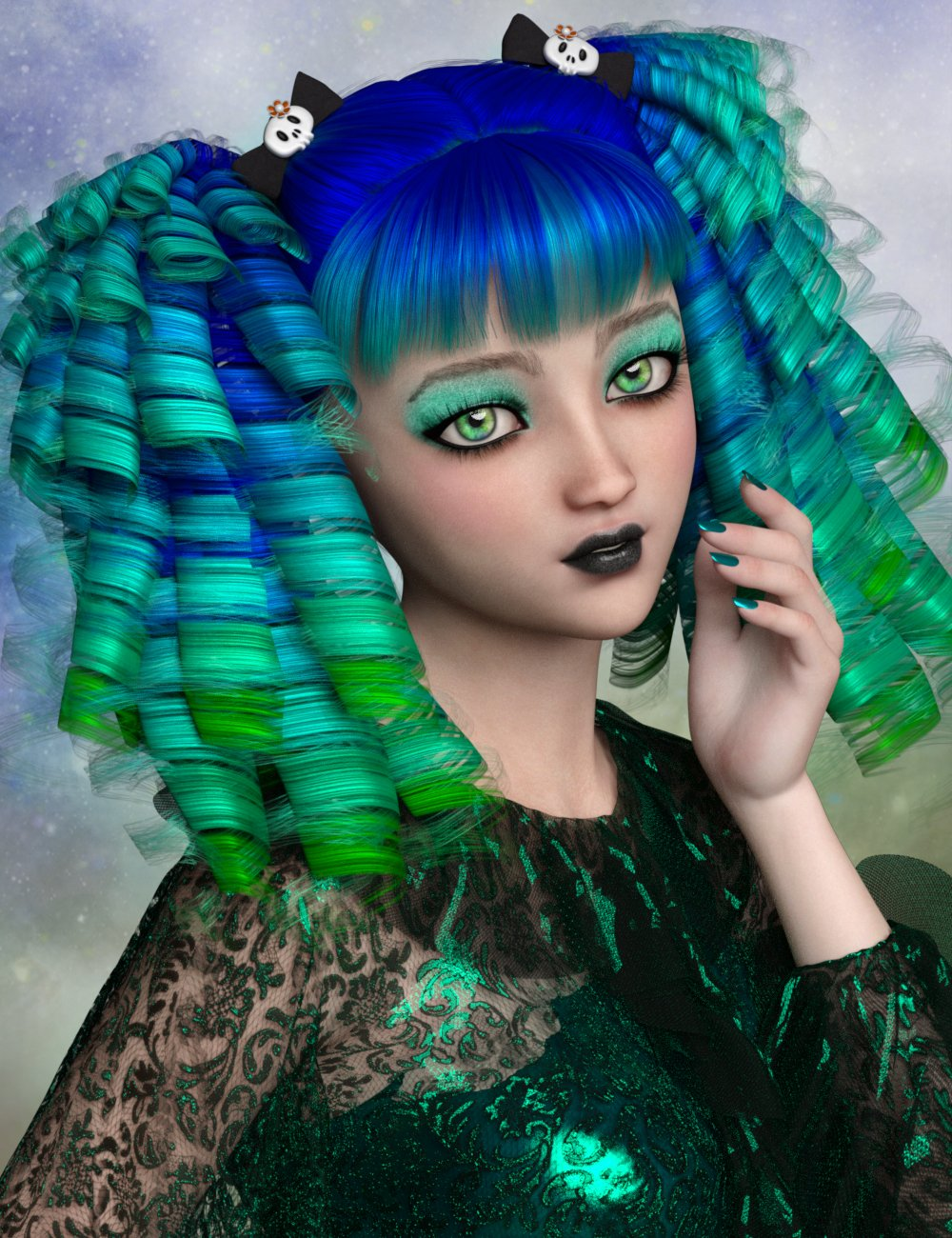 Rue for Kanade 8 by: Dark-ElfDisparateDreamer, 3D Models by Daz 3D