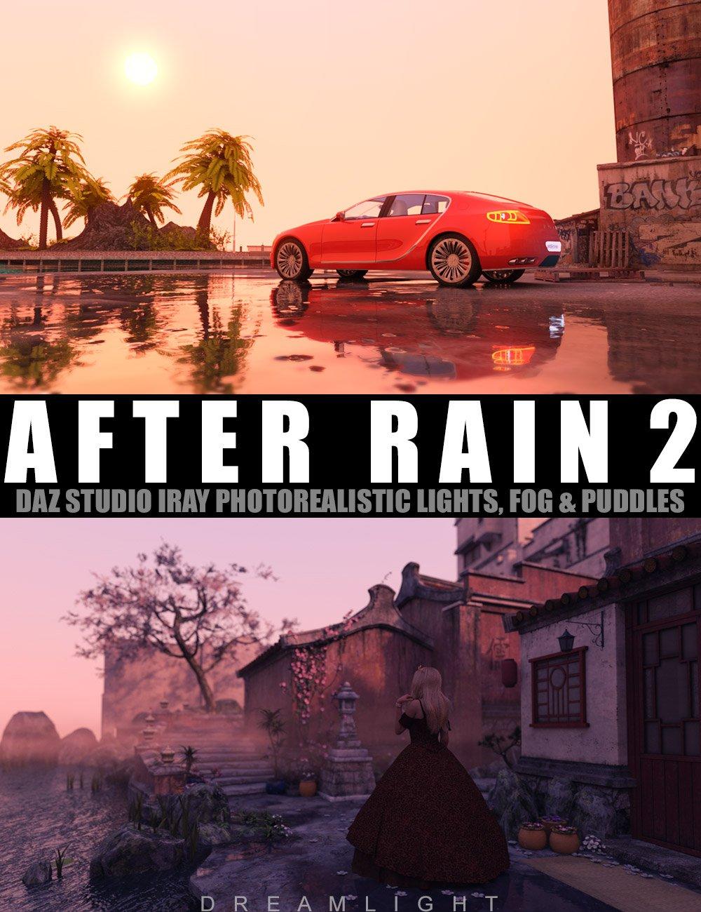 After Rain 2 by: Dreamlight, 3D Models by Daz 3D