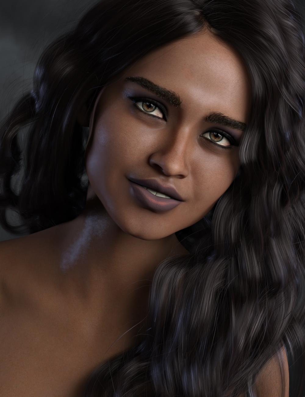 Micaela for Gabriela 8 by: SR3, 3D Models by Daz 3D