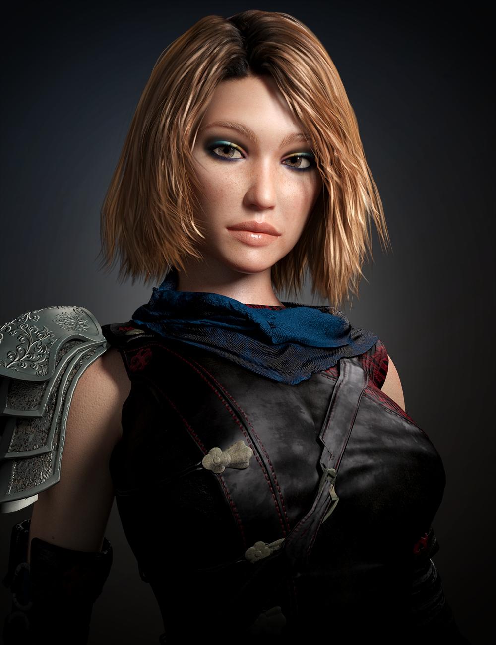 Ellison HD for Genesis 3 and 8 Female by: Lyoness, 3D Models by Daz 3D