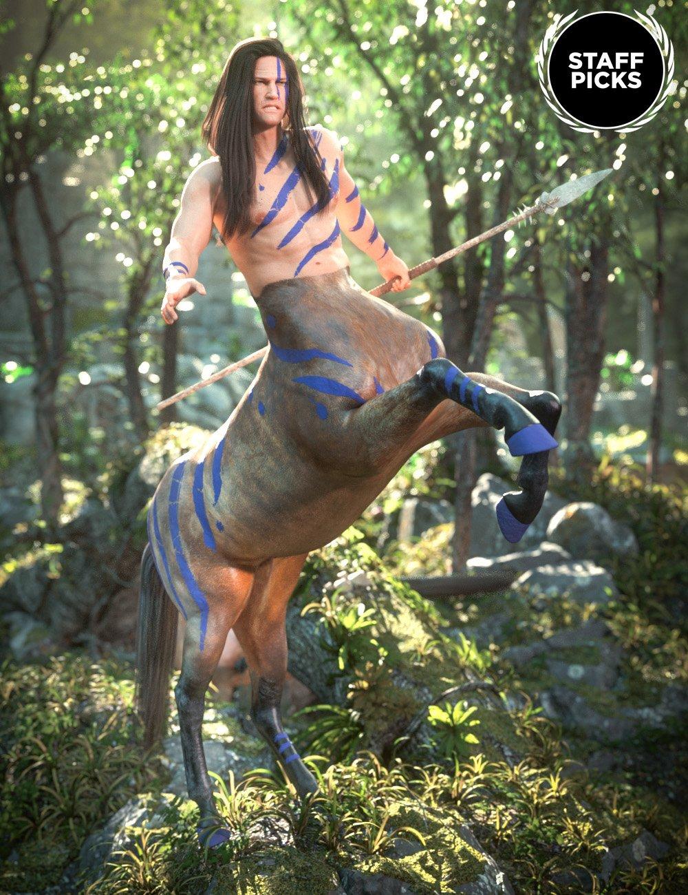 Genesis 8 Male Centaur by: , 3D Models by Daz 3D
