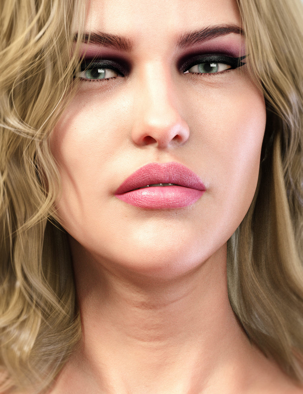 LIE Make-Up Set for Genesis 8 Female by: Neikdian, 3D Models by Daz 3D