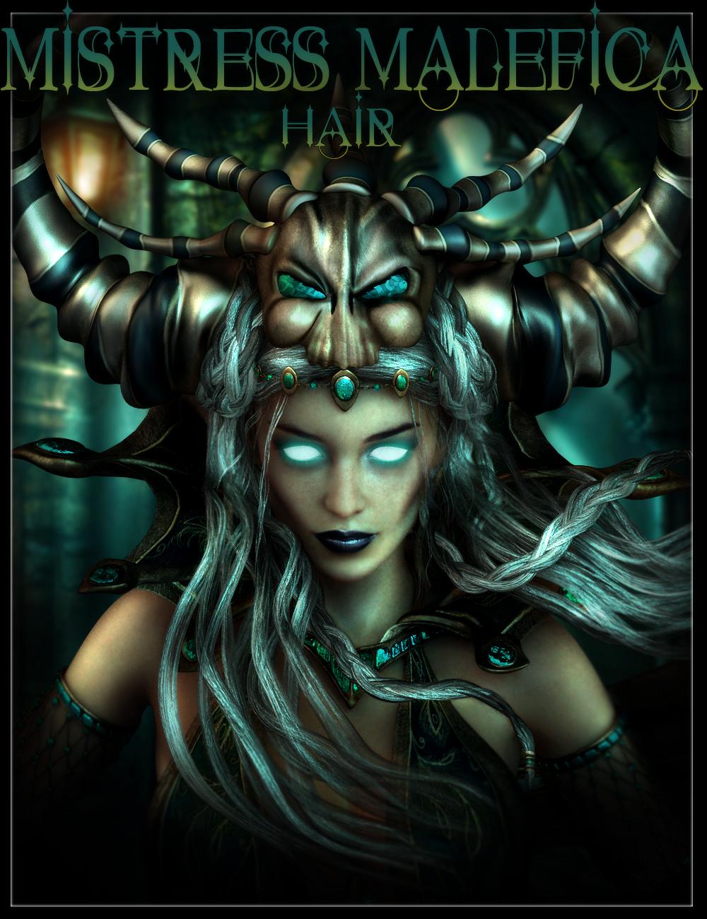 Mistress Malefica Hair by: IgnisSerpentus, 3D Models by Daz 3D