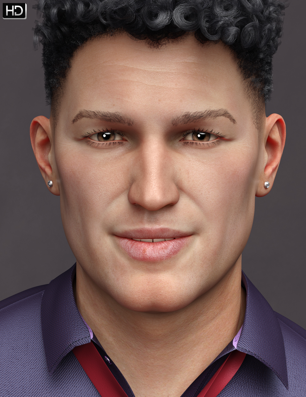 Curtis HD for Genesis 8 Male by: Emrys, 3D Models by Daz 3D