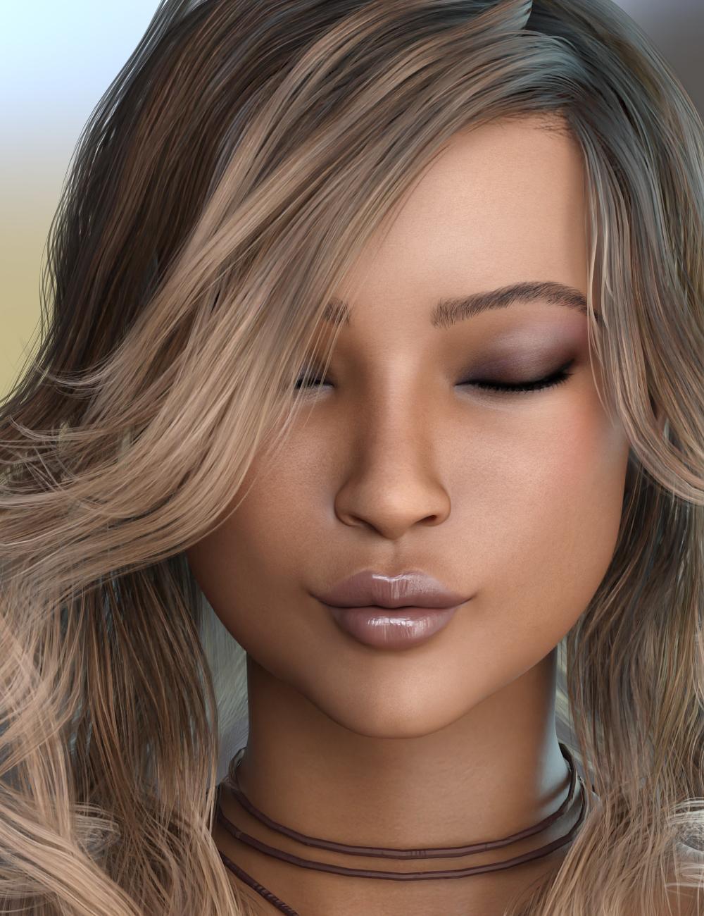 Janette for Teen Jane 8 by: 3DSublimeProductionsVex, 3D Models by Daz 3D