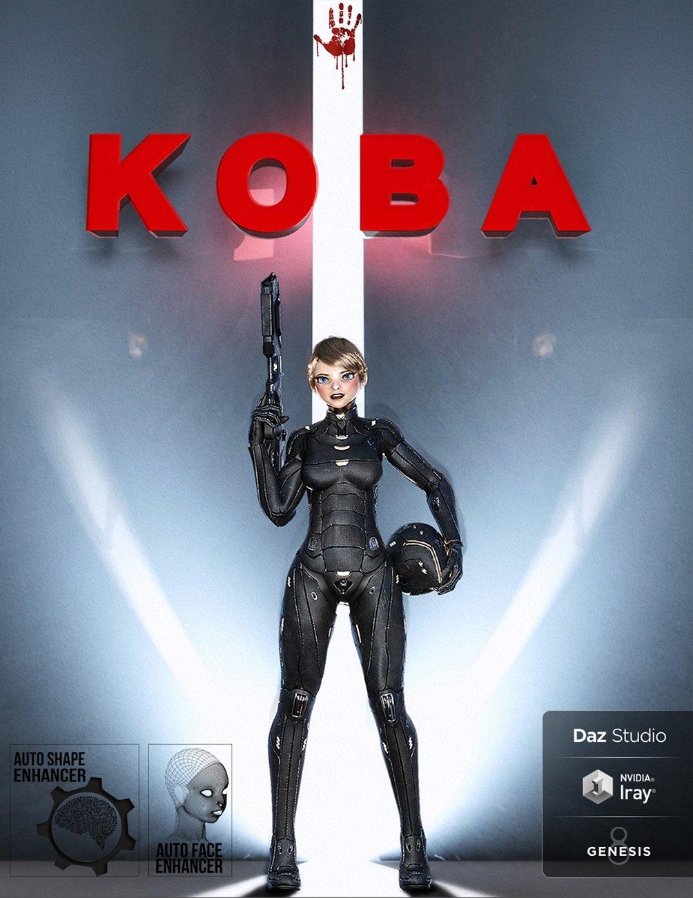 KOBA for Genesis 8 Female by: D.Master, 3D Models by Daz 3D